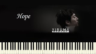 ♪ Yiruma: Hope - Piano Tutorial