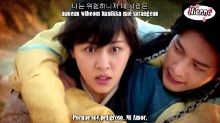 4MEN - Thorn Love MV (Empress Ki OST) [Sub Español + Romanization + Hangul]