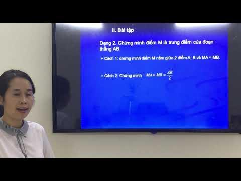 Ôn tập hình học 6 học kì 1 - Cô Lê Phương Anh