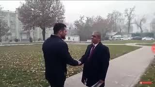 Каромат Шарипов в Таджикистане