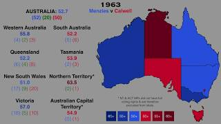 Australian Federal Elections State-by-State, 1901-2019