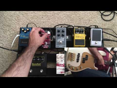 Bass Overdrive Shootout