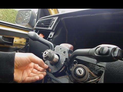 VW GOLF 3 BLINKERHEBEL / WISCHERHEBEL AUSBAUEN TUTORIAL