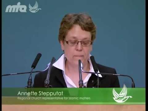 Eine Rede von Frau Annette Stepputat auf der Jalsa Salana 2012