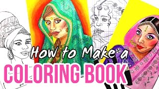 Making A Coloring Book