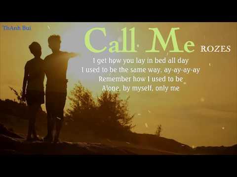 ROZES - Call Me - Lyrics