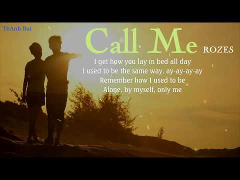 ROZES - Call Me - Lyrics