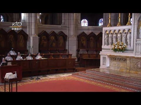 Prière du Milieu du jour du 23 septembre 2021 des Bénédictines du Sacré-Coeur de Montmartre