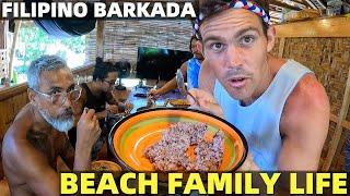 FILIPINO BARKADA FAMILY LIFE.- Beach House Building In Davao (Sardine Lunch!)