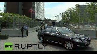 LIVE Bilderberg Conference, participants and limousines