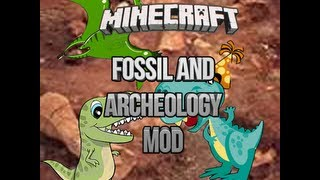 minecraft fossils and archeology mod how to use the time machine