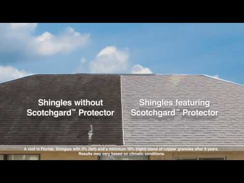 Malarkey Roofing Products Feature Scotchgard™ Protector Granules - #KnowYourRoof