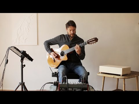 Enrico De Palmas guitar loop project Chitarre e Loop station Torino Musiqua