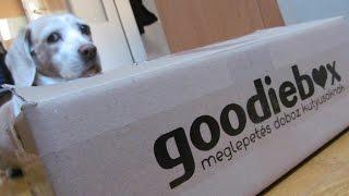 """Mi is meglepődtünk! Goodiebox """"Meglepetés doboz kutyusoknak"""" (kutya unboxing)"""