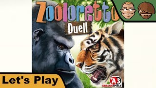 Zooloretto Duell - Brettspiel - Let's Play
