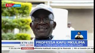 Professa Kafu Mkulima; Muuzaji mkuu wa mafuta yanayotokana na sun flower katika eneo Kitale
