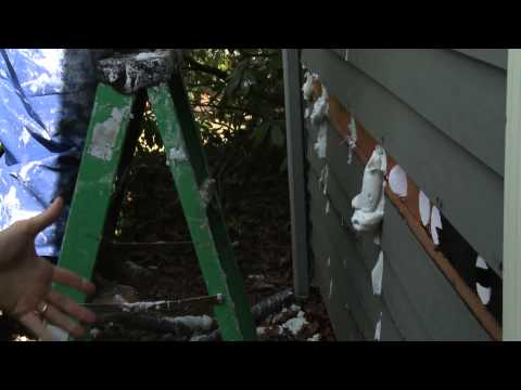 This video introduces the use of AirKrete Injection Foam for wall cavity insulation. Larry Janesky and his crew at Dr. Energy Saver use AirKrete to insulate the walls of a ranch style home. AirKrete was injected into the wall cavities through small holes, drilled in external walls from the outside. While demonstrating the process, Larry highlights the features of this great new insulation product.
