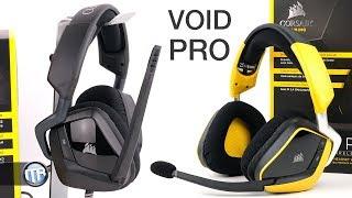 Neue Premium-Headsets von Corsair? VOID PRO Surround & RGB Wireless SE im Test!