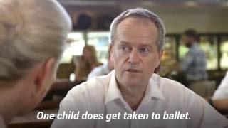 Chloe Shorten Interviews Bill