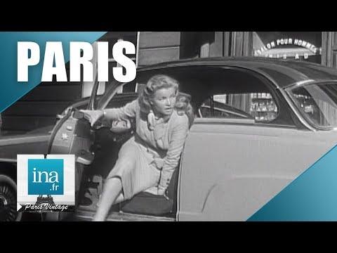 1955 : Quand la préfecture conseillait de ne pas prendre sa voiture à Paris   Archive INA