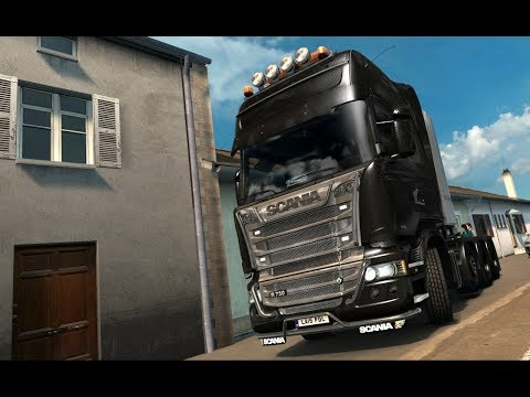 starting ets 2 again as profile was lost , set up and chat