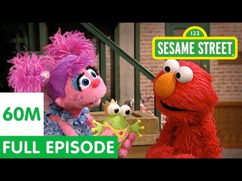 Elmo Teaches Abby to Pretend | Sesame Street Full Episode