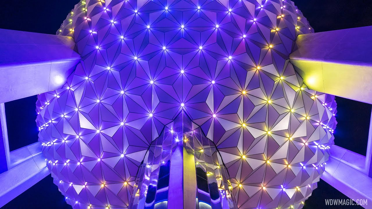 Spaceship Earth new lighting effects