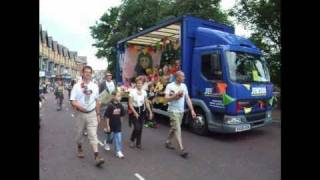 preview picture of video 'St.Annes Carnival Procession, 10th July 2010'