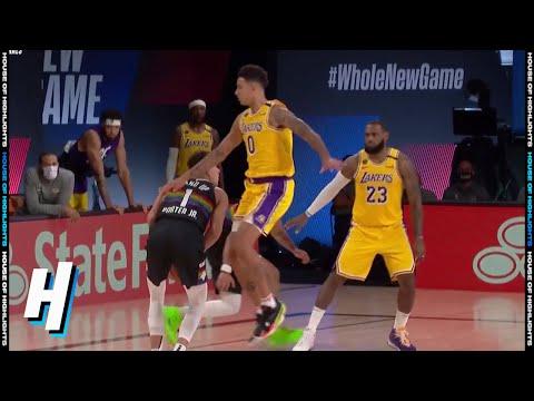 Michael Porter Jr COOKS Kyle Kuzma – Game 4 | Lakers vs Nuggets | September 24, 2020 NBA Playoffs