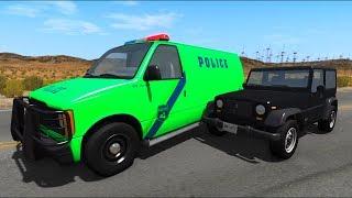 Мультики про машинки - #Полицейская машина - Погоня Мультик