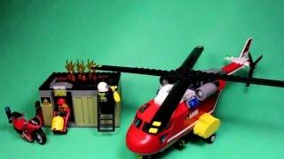 Lego City - Fire Responce Unit, 60108/ Лего Сити - Пожарная команда быстрого реагирования, 60108.