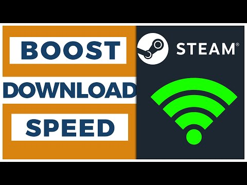 HOW TO INCREASE STEAM DOWNLOAD SPEED [2019]