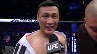 UFC Busan: Korean Zombie Octagon Interview