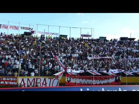 """Liga Deportiva Universitaria 1 vs Liga de Loja 1 (mix de barras)"" Barra: Muerte Blanca • Club: LDU"