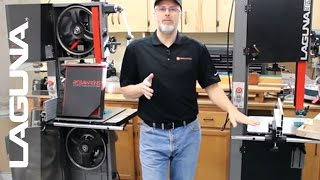 ToolMetrix - Laguna 14bx Bandsaw: Choosing Between 1.75 HP and 2.5 HP