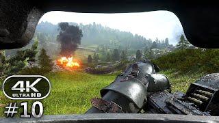 Battlefield 1 4K Gameplay Walkthrough Part 10 - BF1 Campaign 4K 60fps