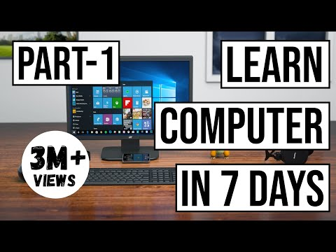 Computer Training Part 1 - Learn Computer in Urdu/Hindi - Learn Computer