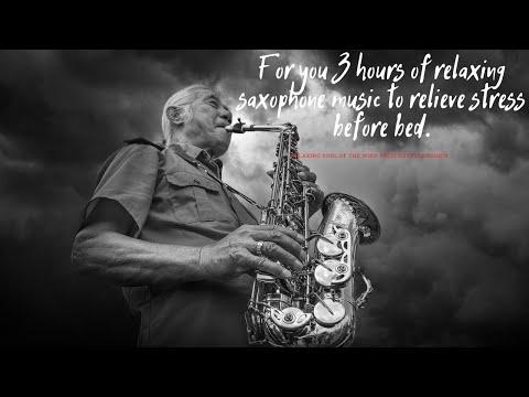 Relaxing stress saxophone music
