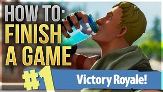 HOW TO WIN | End Game Guide and Tips (Fortnite Battle Royale)