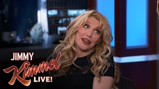 <b>Courtney Love</b> On Making Up With Dave Grohl