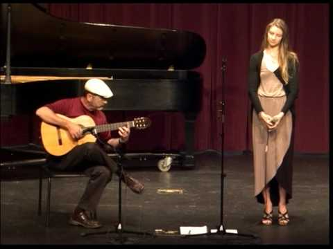 """""""In a Sentimental Mood"""" with Pat Setzer on guitar."""