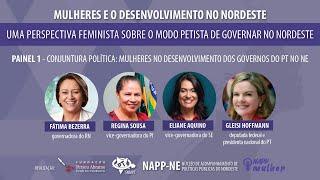 #aovivo | Mulheres e o Desenvolvimento no Nordeste | Abertura e Painel 1