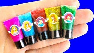 20 DIY Miniature Disney Princess Hacks And Crafts ~ Shower Gels, Backpack, Shoes...and More!