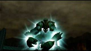 """Legend of Zelda Ocarina of Time Walkthrough 14 (9/10) """"Ganon's Castle: GANON"""""""