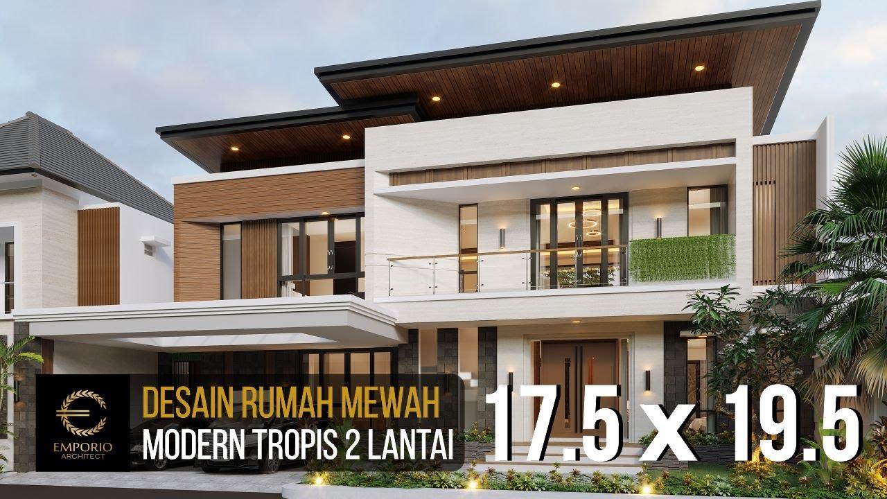 Video 3D Mr. Julian Modern House 2 Floors Design - Palembang, Sumatera Selatan