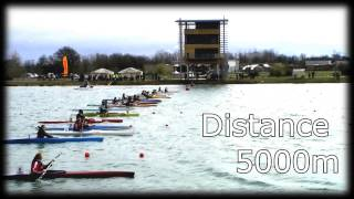 preview picture of video 'Championnats de France de fond Canoë-Kayak Libourne 2013'