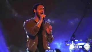 Darin - Why Does It Rain (1st concert in Asia, China - 2nd city, Shenzhen)
