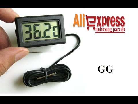 Digital LCD Probe Thermometer