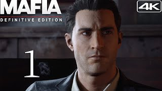 Mafia Definitive Edition  Walkthrough Gameplay With Mods 1  Prologue 4K 60FPS Classic