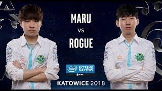 StarCraft II - Maru [T] vs. Rogue [Z] - Semifinal - IEM Katowice 2018